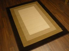Modern Approx 6x4ft 120x170cm Woven Rugs Sale Top Quality Brown/Beige panel